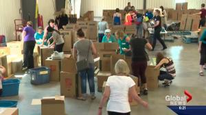 Albertans open their hearts to donate money, time & supplies