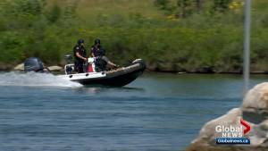 Calgary Police gear up for the Bow River's busiest weekend of the year