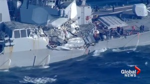 U.S. Navy pressing criminal charges against commanding officers of ships involved in collisions