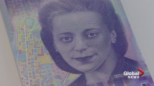 $10 bill featuring Canadian civil rights icon Viola Desmond unveiled