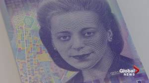 $10 bill featuring Canadian civil rights icon Viola Desmond unveiled (02:05)