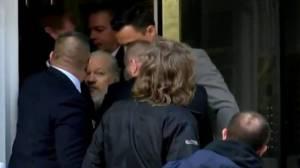 WikiLeaks co-founder Julian Assange arrested in London (02:59)