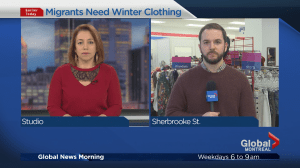 Government of Quebec asks for donated winter clothes