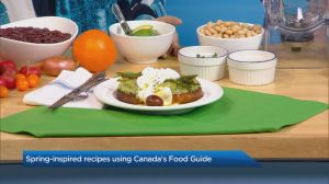 Recipes using Canada's new food guide