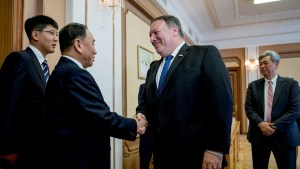 Pompeo meets North Korean Vice Chairman as denuclearization talks resume
