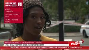 Witness heard suspect was 'regular gamer' in Jacksonville, FL mass shooting