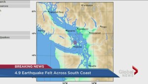 Earthquake strikes off coast of Vancouver Island – interview with Natural Resources Canada