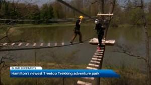Hamilton's newest Treetop Trekking adventure park