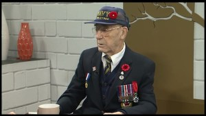 Second World War veteran Denis Garrod remembers his role in D-Day