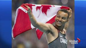 Andre De Grasse wins Canada's first Olympic sprint medal in 20 years