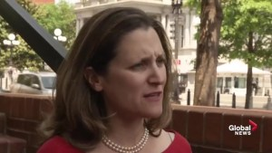 Freeland to return to Ottawa as NAFTA talks break