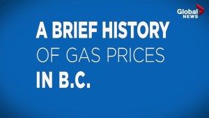A brief history of gas prices in B.C.