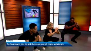 Get the most out of your home workout