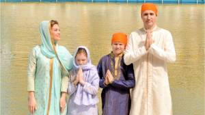 Are Justin Trudeau and his family overdoing it with their traditional Indian outfits?