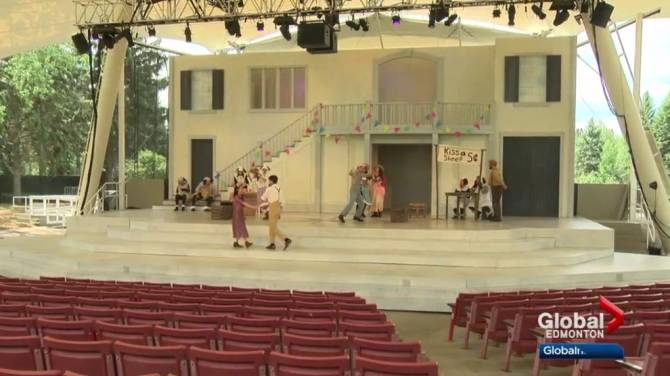 Perfect for a mid-summer's night: Edmonton's Freewill Shakespeare Festival kicks off