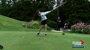 Young Alberta golfer impresses at prestigious tournament