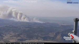 Time-lapse video captures start of Lilac Fire near Boucher Hill, CA