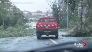 Guadeloupe residents take stock of damage left by Hurricane Maria