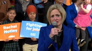 Rachel Notley responds to Caylan Ford's resignation