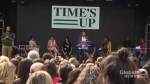 Rally at TIFF draws a big crowd to hear about challenges women face working in film and television