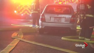 Vancouver firefighter badly hurt by suspected drunk driver