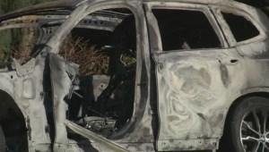 Teen boys injured in fiery crash