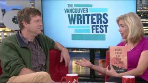 Author Kevin Patterson on writing about war in new book 'News from the Red Desert' (04:41)
