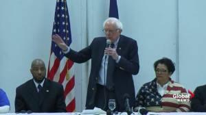 Bernie Sanders calls Trump a 'pathological' liar, accuses him of dividing Americans