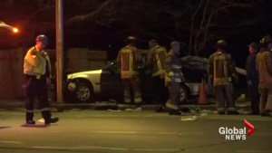 impaired driver charged after 1 killed, 2 injured in downtown Toronto crash