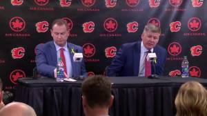 'It really is an opportunity to come home': New Calgary Flames head coach Bill Peters