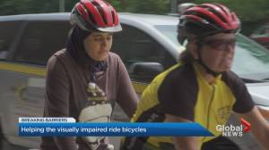 Helping the visually impaired ride bicycles
