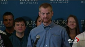 U.S. doctors infected with Ebola released from hospital