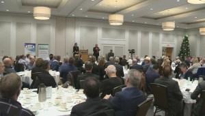 B.C. opposition leader addresses Kelowna business community