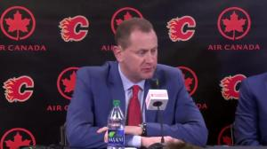Brad Treliving announces Bill Peters as head coach of Calgary Flames