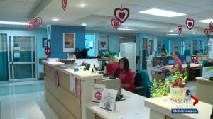 Edmonton hospital staff Wear Red to bring attention to heart disease in women
