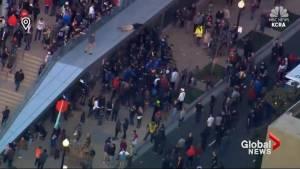 Protesters delay Sacramento Kings game