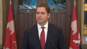 Scheer says Liberals have 'lack of respect for rules' over SNC-Lavalin