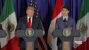 Trudeau to Trump: GM closures example of why steel tariffs creates economic barriers