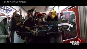 Music video that takes aim at TTC being investigated by Toronto police