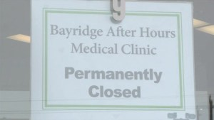 West end Kingston after hours walk-in clinic closes