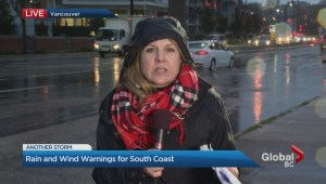 Third storm hits the Lower Mainland
