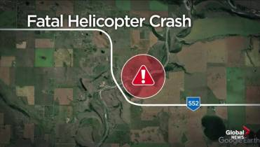 Pilot dies in helicopter crash southeast of Calgary
