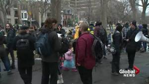 20th Montreal anti-police brutality protest