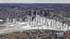 Master plan reveals what will the Calgary's Rivers District will look like post-Saddledome