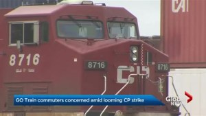 GO Transit trains bracing for delays in case of CP Rail strike