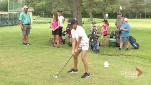Liftlock golf camp teaching kids to love the sport