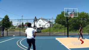 North Preston man hopes new basketball court inspires youth