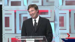 'The ice isn't quite as fast as Rexall': Wayne Gretzky jokes about Rogers Place rink