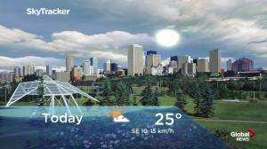 Edmonton early morning weather forecast: Friday, September 7, 2018