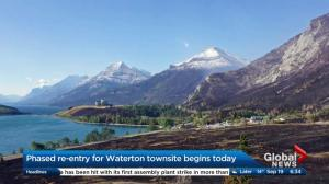 Phased re-entry for Waterton townsite begins Tuesday